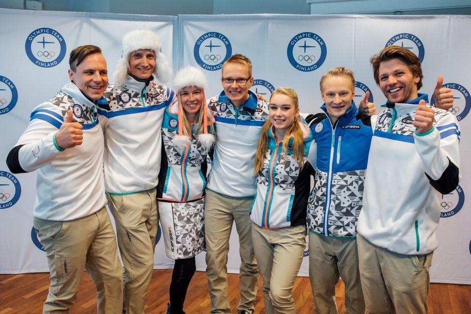 A finn csapat egyenruhája a 2018-as phjongcshangi téli olimpiai játékokra 9890826a7c