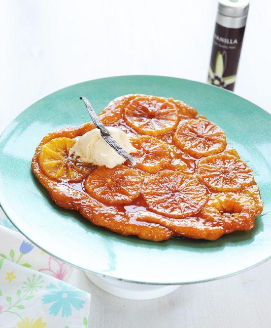 forditott narancstorta recept sütemény édesség