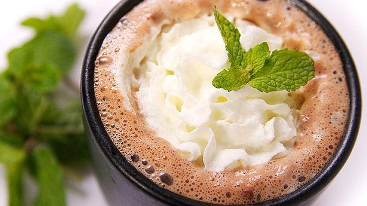 forro csoki mentas teli ital recept kakaó édesség