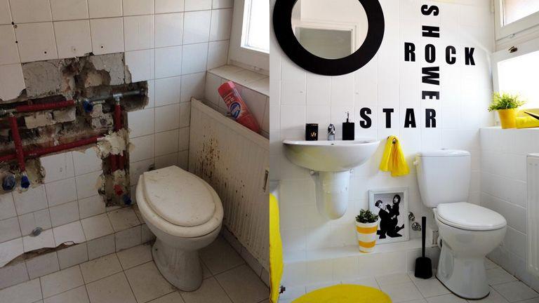 furdőszoba átalakítás mosdó wc design
