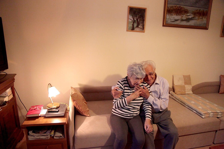 idősek otthona nyugdíjas öregkor