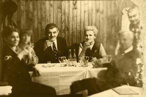 ilona stüberl somlai mihály vintage fekete fehér étterem
