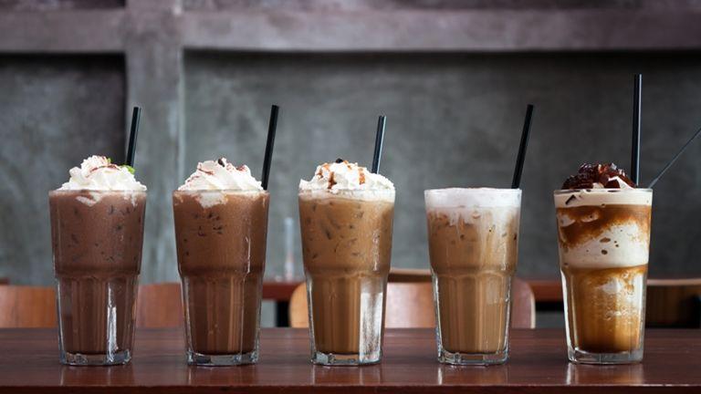 kávé latte arc otthon