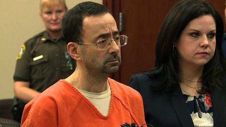 Larry Nassar szexuális zaklatás ítélet