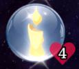 cigánykártya szimbólum szerelem jóslat gyertya