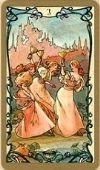 tarot kártya jóslás szerelem tavasz