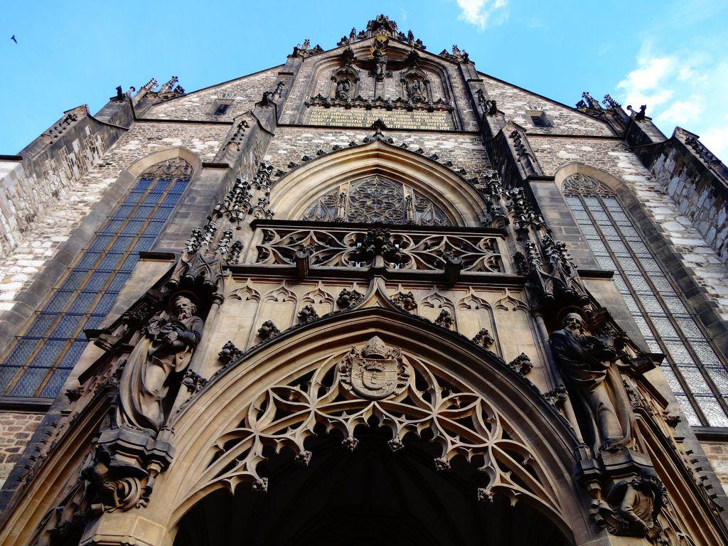 szent péter és pál katedrális brno brünn csehország gótika
