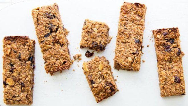 sütés nélküli granola szelet