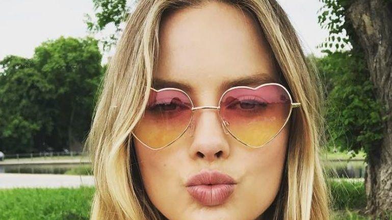 Margot Robbie csók instagram