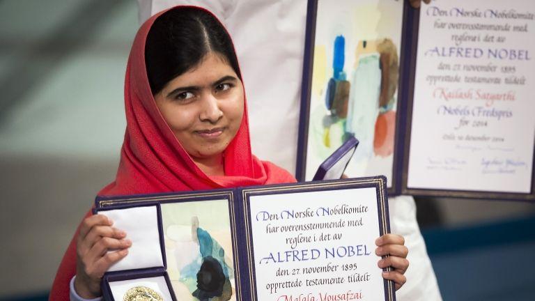 Malala Juszafzai, Nobel-békedíj (fotó: AFP / Odd Andersen)