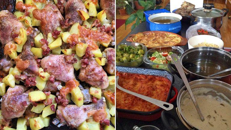 főzés, anya, gyerek, család, dicséret