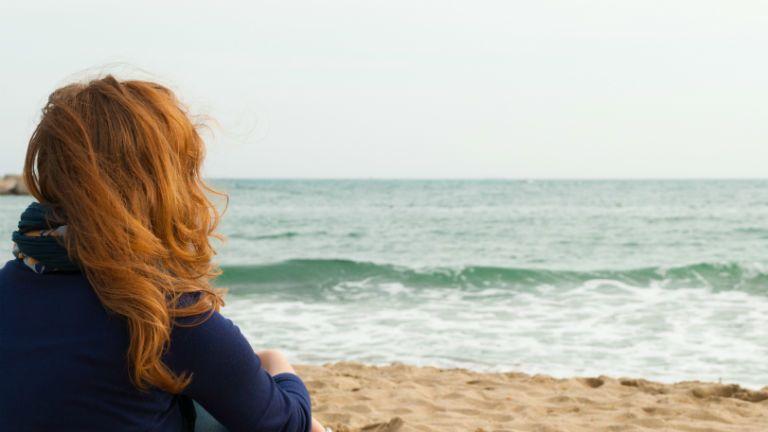 tenger, egyedul, magany