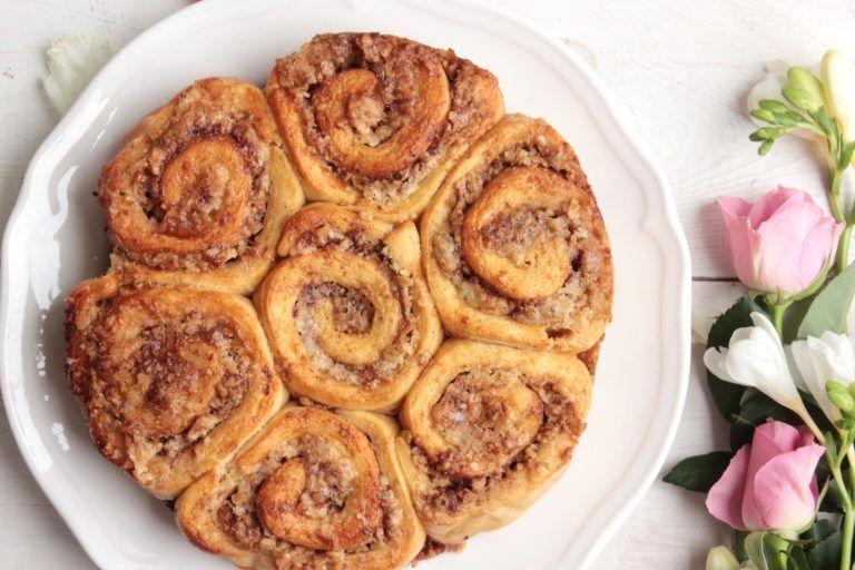 fahejas dios csiga peksutemeny recept cinnamon roll