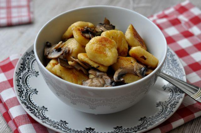 gnocchi gombaval recept