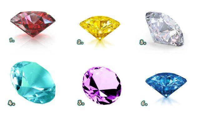 gyémánt személyiség teszt