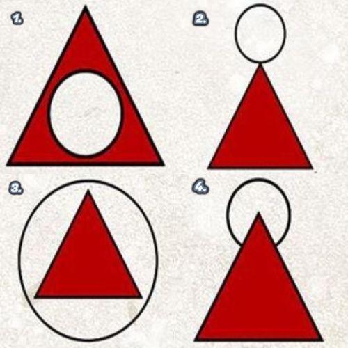 háromszög kör személyiség teszt