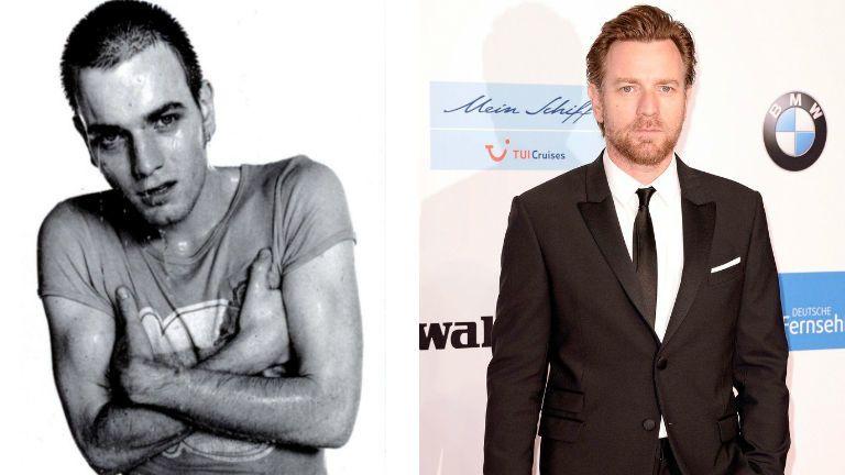 Ewan McGregor akkor és most így néz ki most