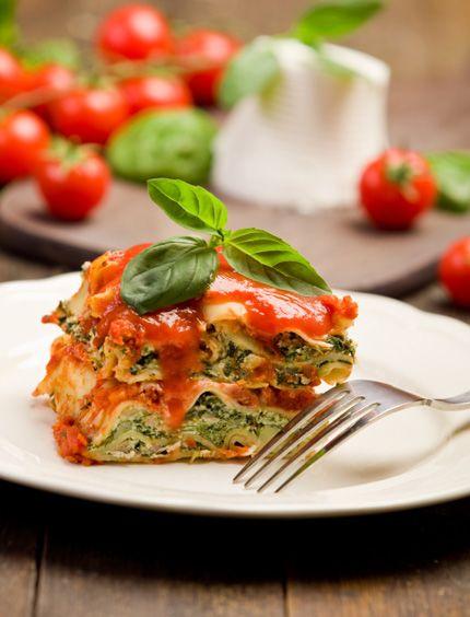 medvehagymas lasagne
