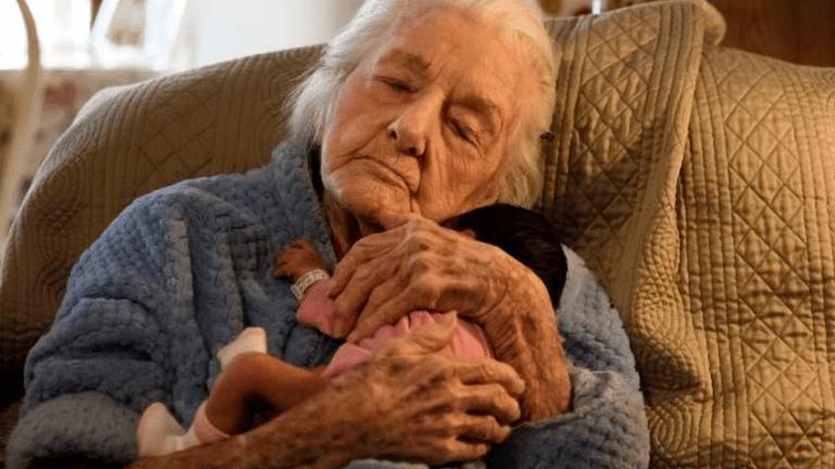 nagymama szeretet unoka
