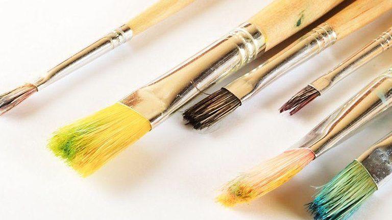 festmény, festő, festőművész, ecset, vászon
