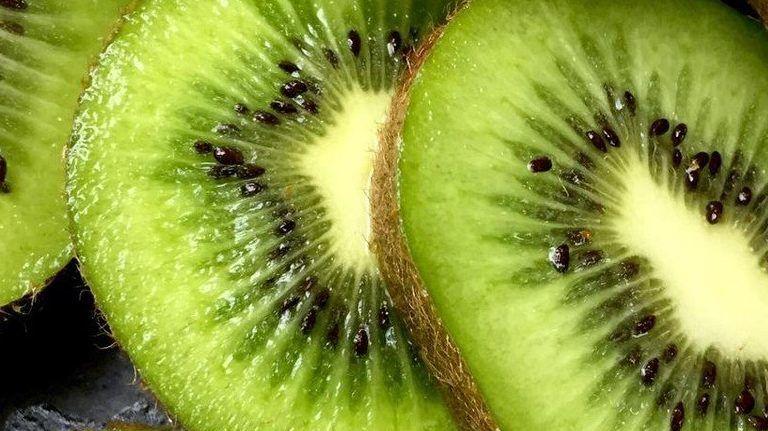 kivi gyümölcs zöld