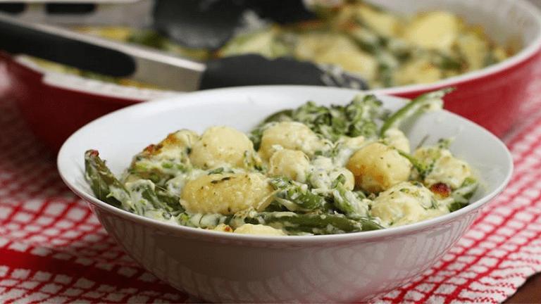 sajtos brokkolis gnocchi recept