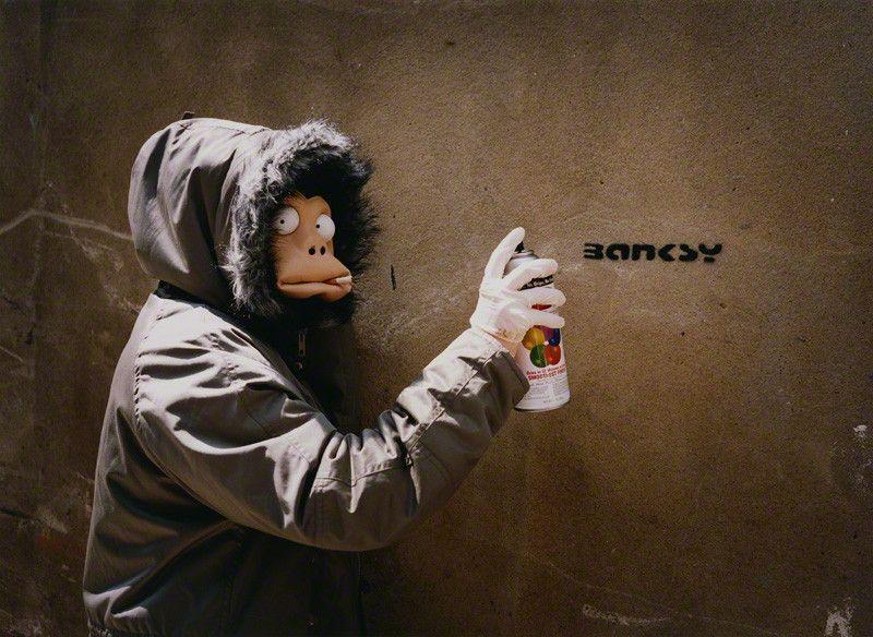 banksy atreet art graffiti