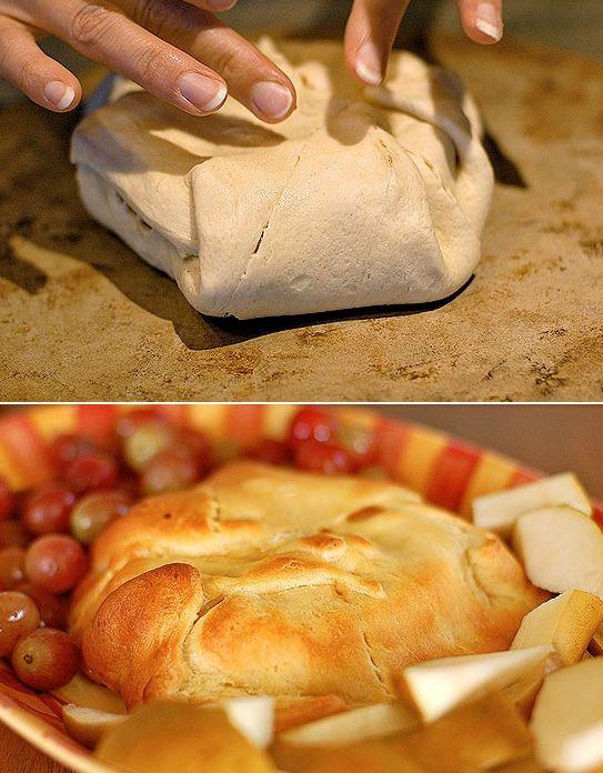 tesztaban sult camembert sajt recept