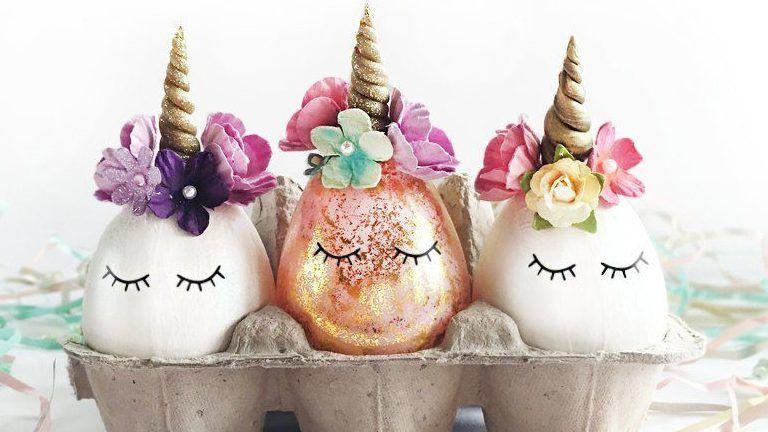 unikornis húsvéti tojás