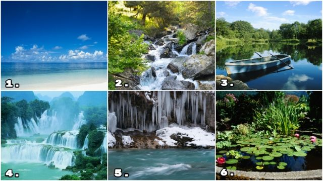 természetes vizek személyiség teszt érzelmek