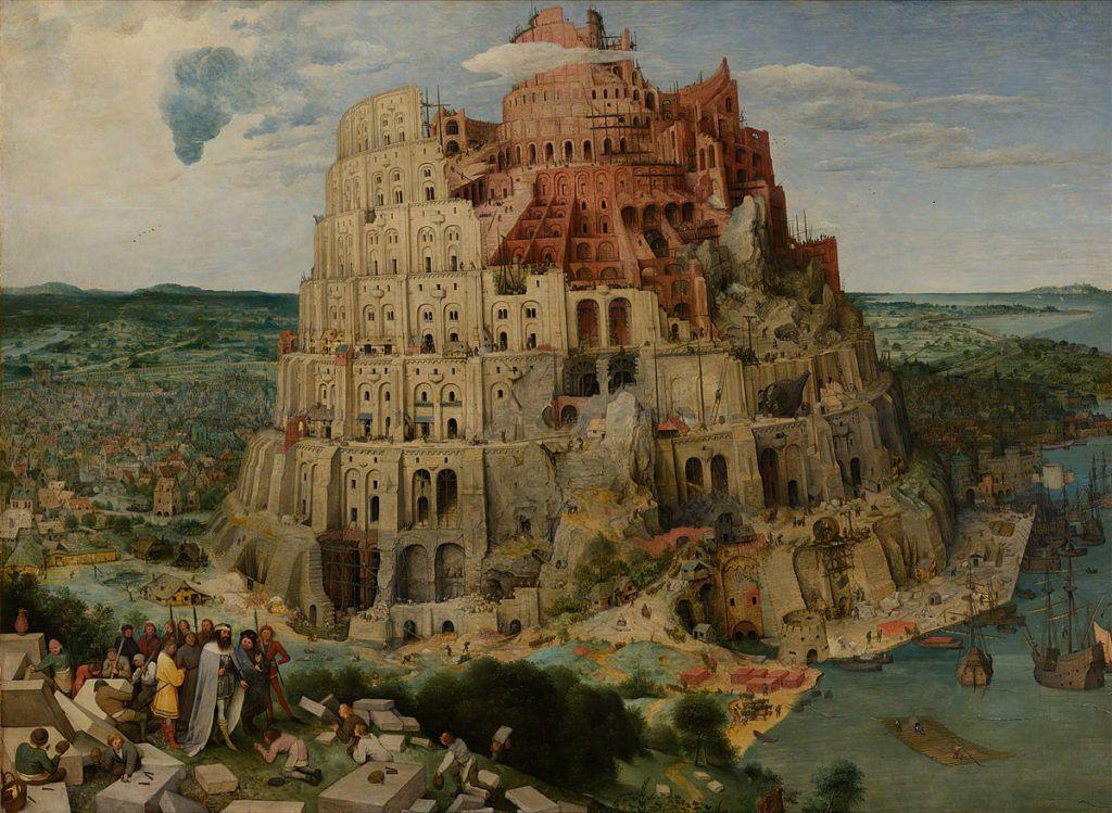 idősebb pieter bruegel bábel tornya