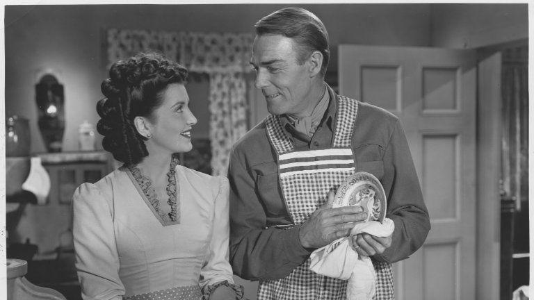 Jelenet az 1948-as, Albuquerque című filmből. Fotó: Getty Images.