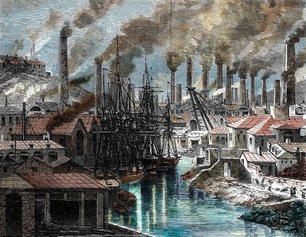 cornwall urbanizáció ipari forradalom