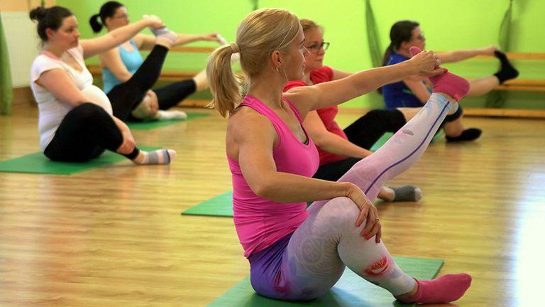 terhes torna jóga