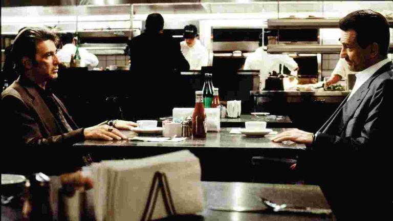 Szemtől szemben, Al Pacino, Robert De Niro (forrás: InterCom)