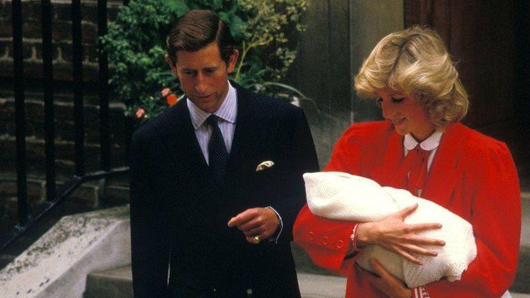 Harry herceg diana hercegnő károly herceg 1984
