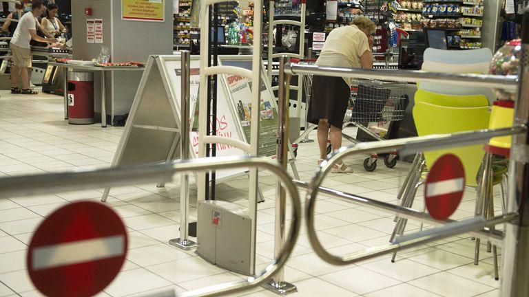 bevásárlás (MTI Fotó: Koszticsák Szilárd)