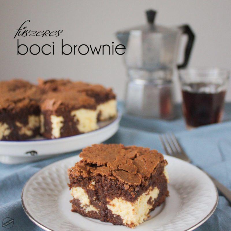 boci brownie csokis sutemeny recept
