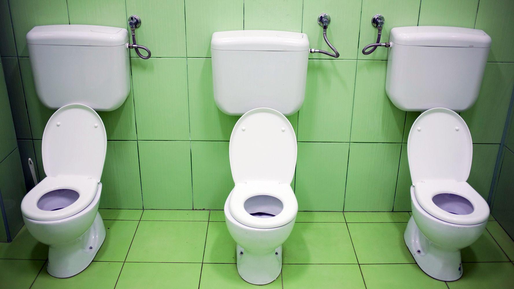iskolai vécé