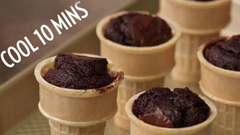 fagyi brownie süti sütemény édesség