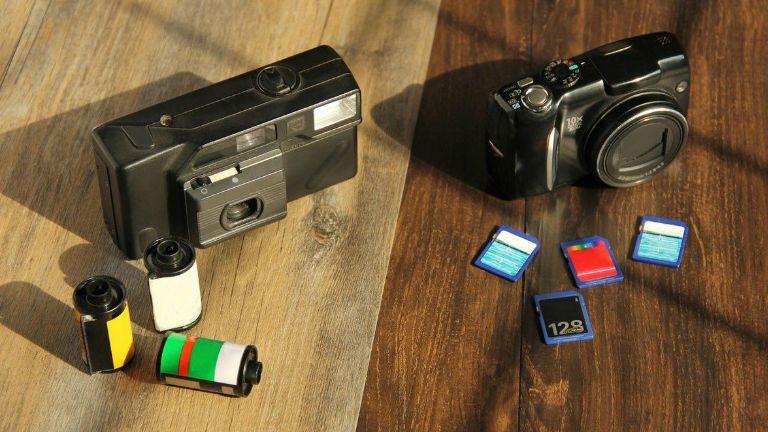 régi fényképezőgép