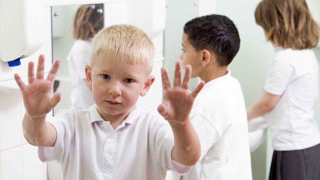 higiénia kézmosás iskola