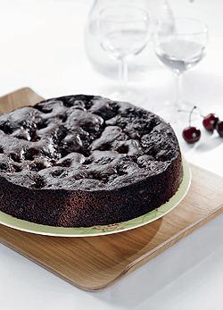 joghurtos csokitorta recept édesség