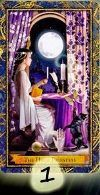 kártya jóslás vágyak kívánságok spirituális üzenet