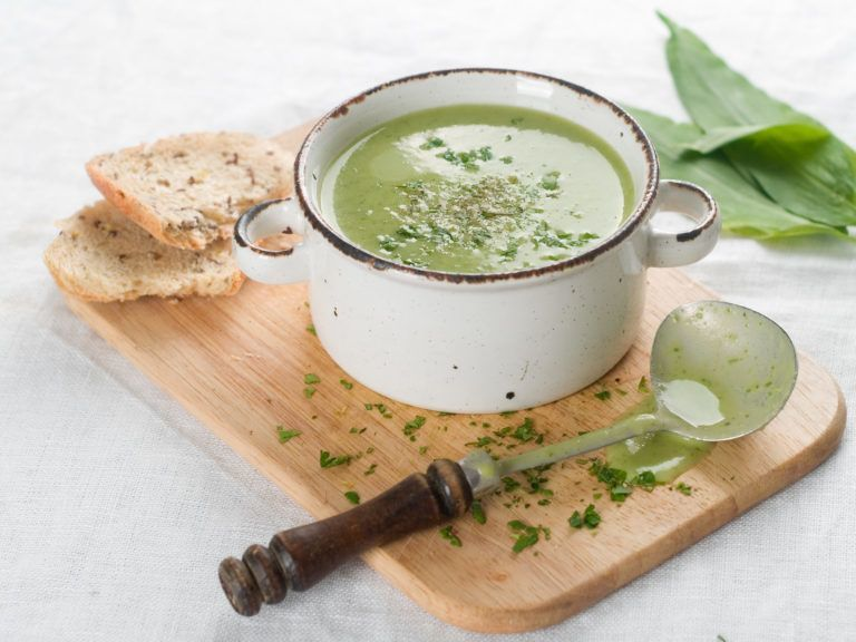 medvehagymas leves recept ebéd