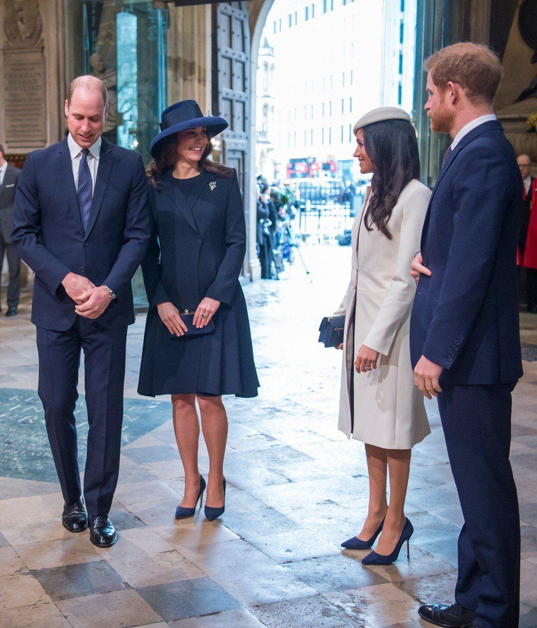 Katalin hercegnő Vilmos herceg Meghan Markle Harry Herceg