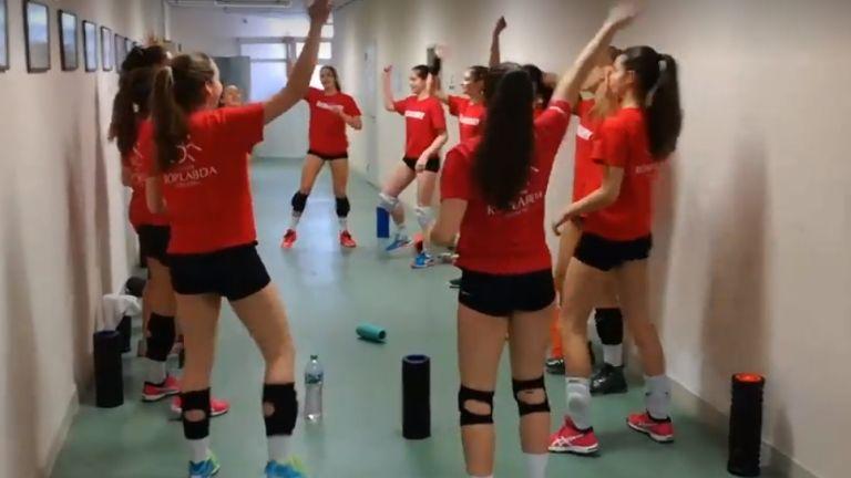 röplabdás lányok (forrás: Magyar Röplabda Szövetség Facebook)