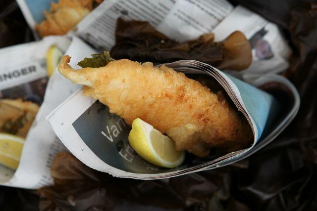sortesztaban sult hal recept rantott