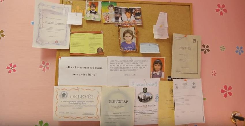 Kovácsné Tóth Hajnalka nővér aranyanyu