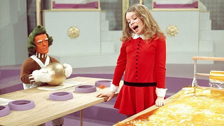 Willy Wonka and the Chocolate Factory étkezés édesség csokoládé táplálkozás